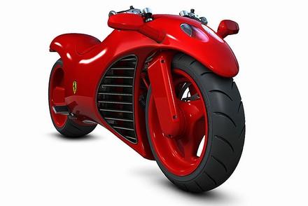 Motocykl Ferrari