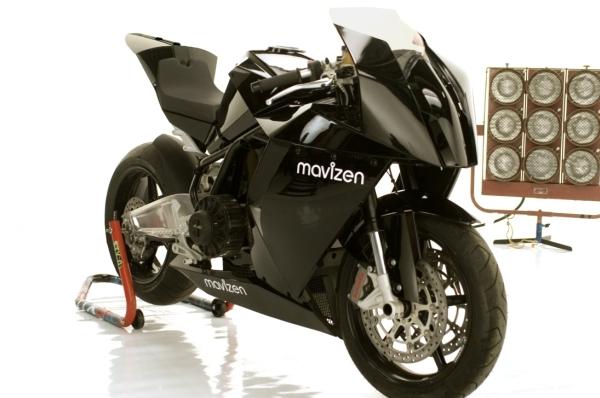 Mavizen TTX02 pierwszy elektryczny superbike