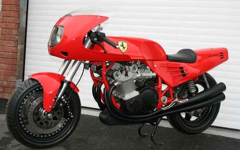 Oficjalny motocykl Ferrari