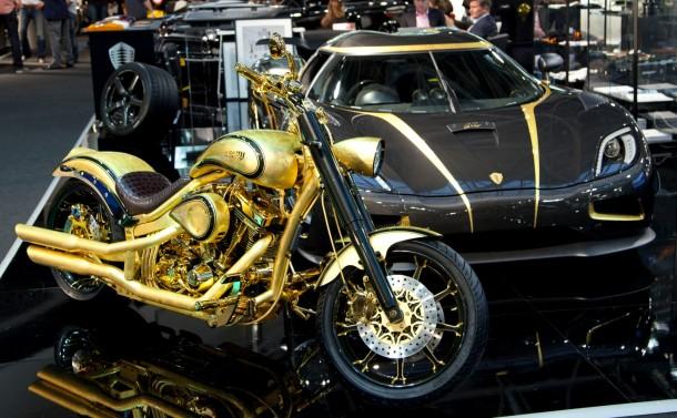 Goldfinger – najdroższy motocykl na świecie