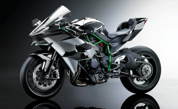 Kawasaki Ninja H2R o mocy 300 KM