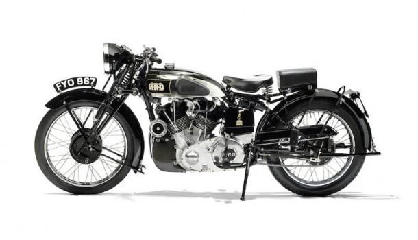Vincent HRD Series-A Rapide z 1939 roku na aukcji w Stafford