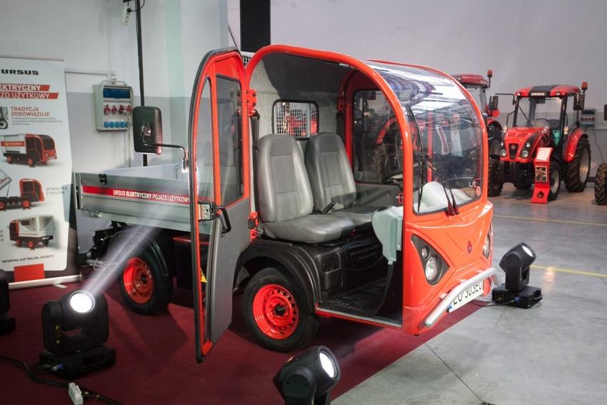 Ursus wyprodukuje samochód z napędem elektrycznym
