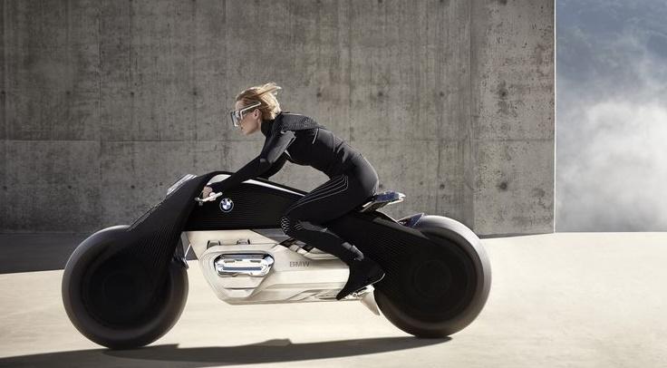 BMW Vision Motorrad Next 100 – elektryczny motocykl